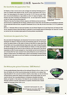 Über japanischen Tee PDF