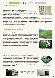 Acerca del té japonés PDF
